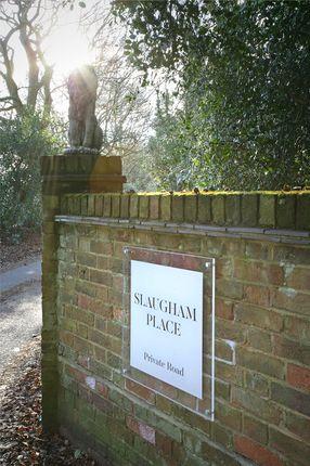 Entrance of Slaugham Manor, Slaugham, West Sussex RH17
