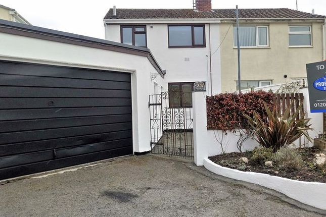 Thumbnail Semi-detached house to rent in Omaha Road, Bodmin