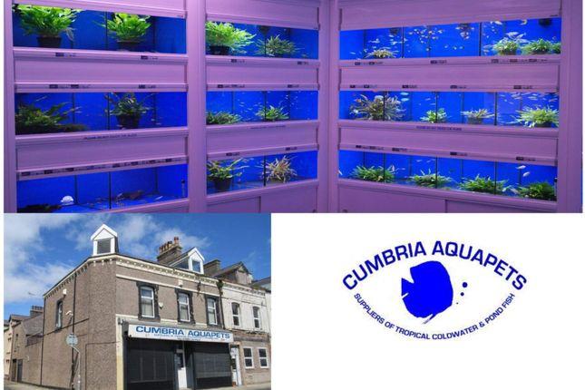 Thumbnail Retail premises for sale in Fisher Street, 24-26, Cumbria Aquapets, Workington