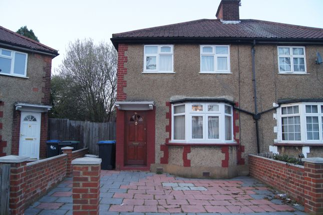 Thumbnail Semi-detached house for sale in Anglesey Road, Enfield