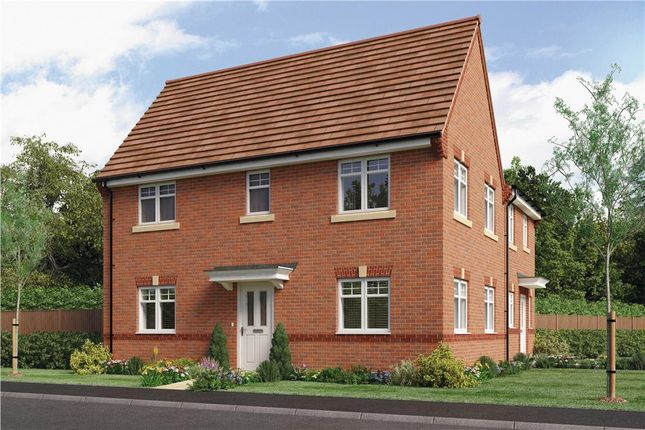 """Thumbnail Semi-detached house for sale in """"Morley"""" at Rykneld Road, Littleover, Derby"""