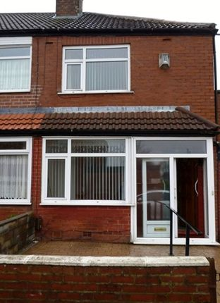 Thumbnail End terrace house to rent in Greenhill Road, Middleton, Manchester