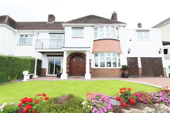 Thumbnail Semi-detached house for sale in Beaufort Road, Newport