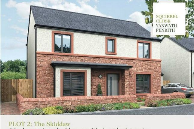 Thumbnail Detached house for sale in Plot 2 Squirrel Close, Yanwath, Penrith, Cumbria