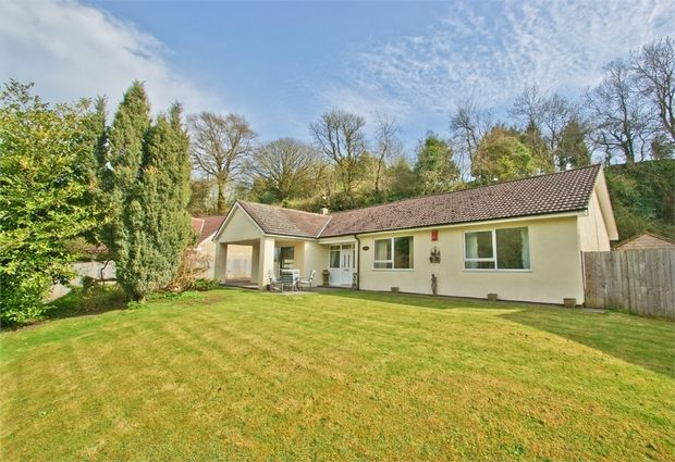 Thumbnail Detached bungalow for sale in Tape Lane, Gurney Slade, Somerset