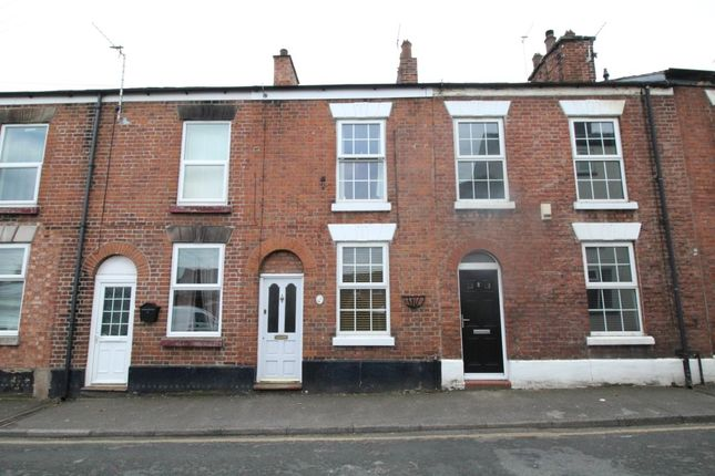 Thumbnail Terraced house to rent in Waggs Road, Congleton