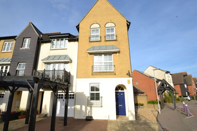 Thumbnail Town house to rent in Admiralty Crescent, Eastbourne