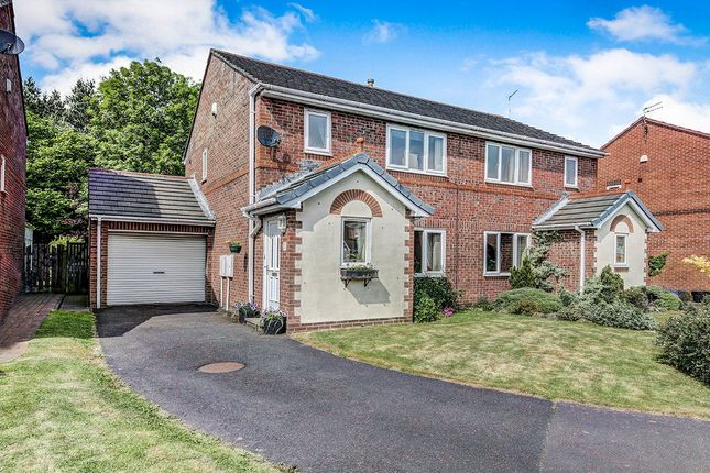 Thumbnail Semi-detached house for sale in Fonteyn Place, Cramlington