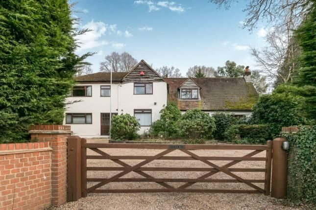 Thumbnail Detached house for sale in Ash Vale, Surrey