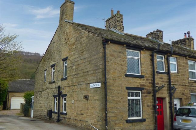 Thumbnail End terrace house for sale in South View, Eastburn, Keighley, West Yorkshire