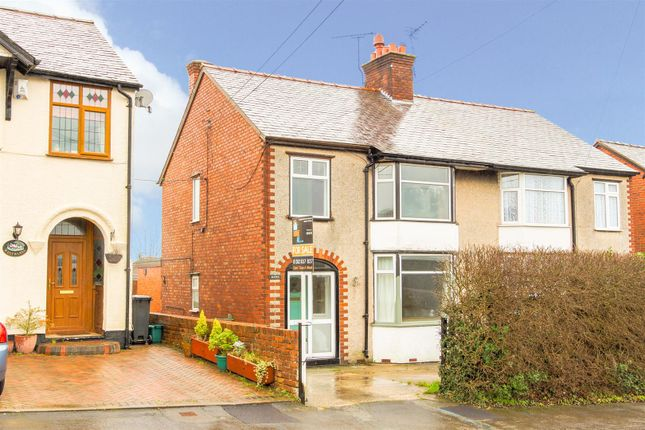 Thumbnail Semi-detached house for sale in Padeswood Road, Buckley