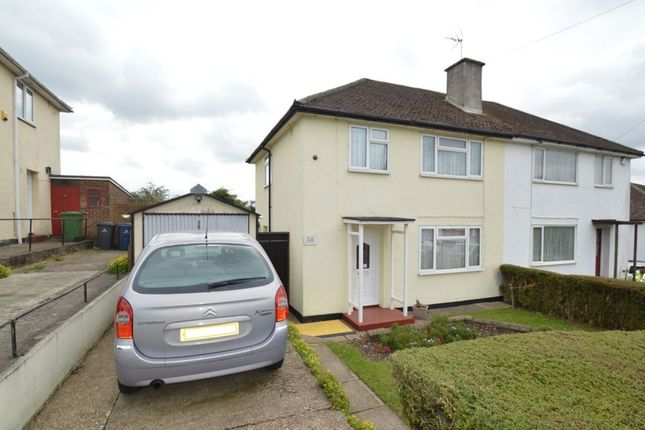 Thumbnail Semi-detached house for sale in Wingate Avenue, High Wycombe