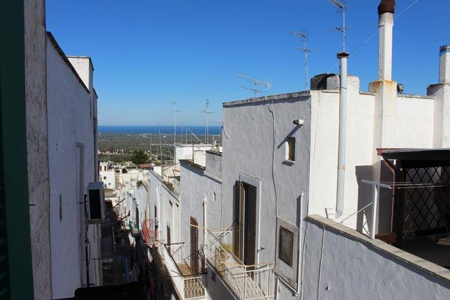 Balcony View of Casa Zona Ottocentesca, Ostuni, Puglia, Italy