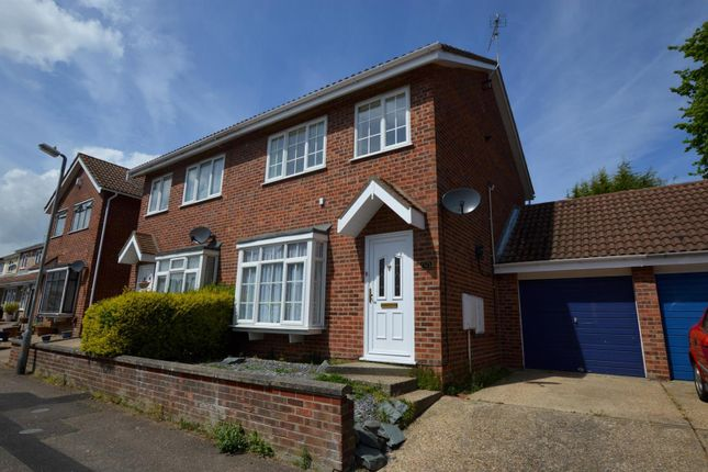 Thumbnail Semi-detached house for sale in Pirie Road, West Bergholt, Colchester