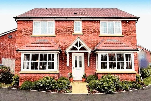 Thumbnail Detached house for sale in Clos Gracie, Rhyl
