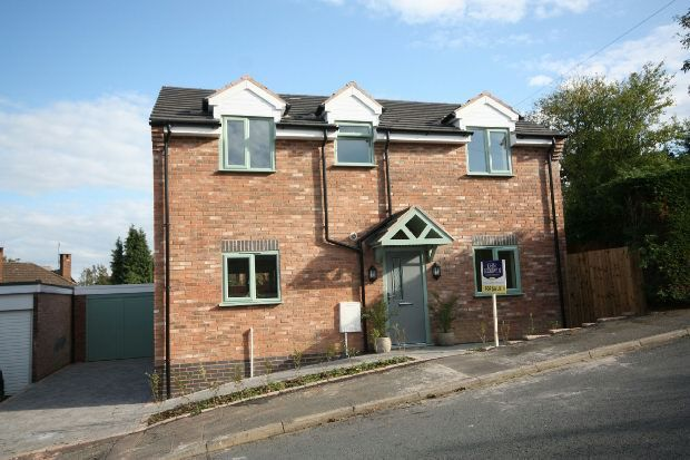 Thumbnail Detached house for sale in Woodbury Rise, Malvern