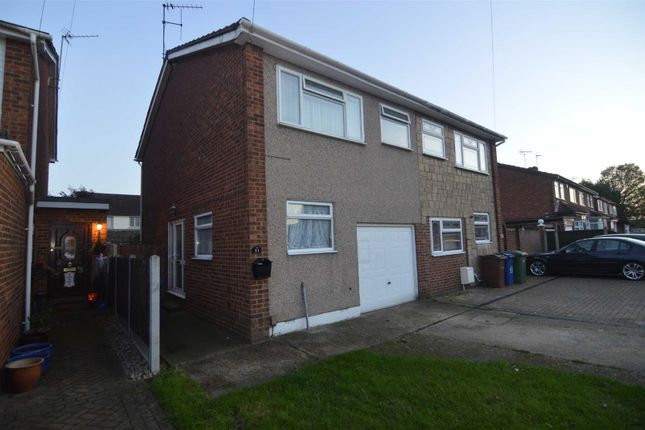 Thumbnail Semi-detached house for sale in Gideons Way, Stanford-Le-Hope