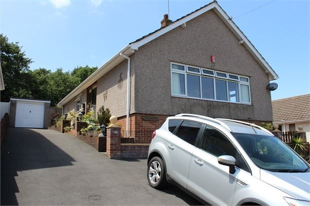 Thumbnail Detached bungalow for sale in Cliff Road, Worlebury, Weston Super Mare, North Somerset.