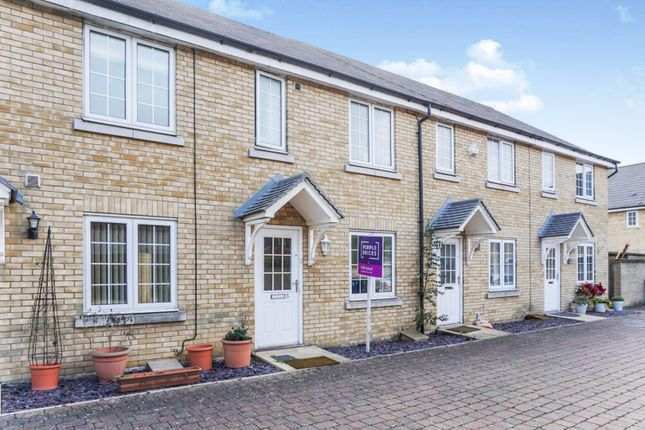 Thumbnail Terraced house for sale in Yaffle Mews, Cambourne, Cambridge