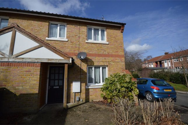 Thumbnail End terrace house for sale in Maltby Court, Norwich
