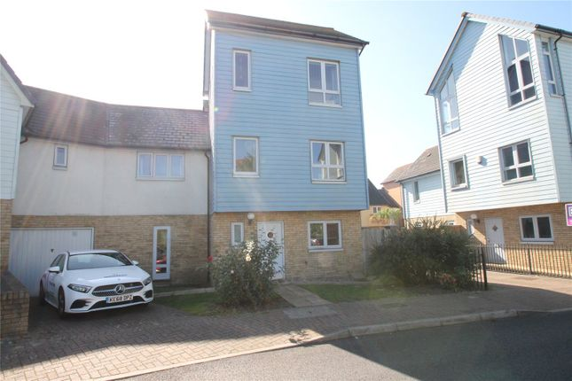 Thumbnail Semi-detached house to rent in Dunlin Drive, St. Marys Island, Chatham, Kent