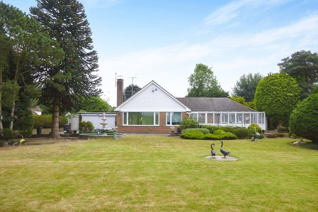 Thumbnail Detached bungalow for sale in St Peters Lane, Bickenhill, Solihull