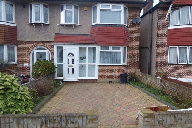 Thumbnail Semi-detached house to rent in Shaldon Drive, Morden