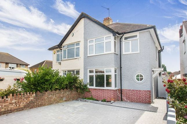 Thumbnail Semi-detached house for sale in Springwell Road, Heston