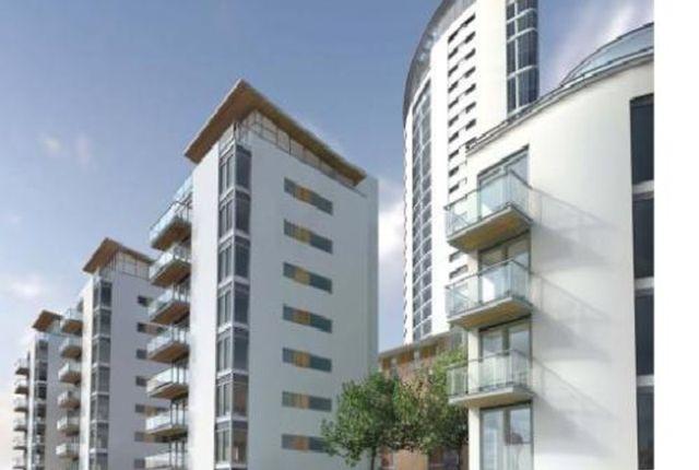 Thumbnail Flat to rent in Meridian Bay, Trawler Road, Swansea, 1Pl.