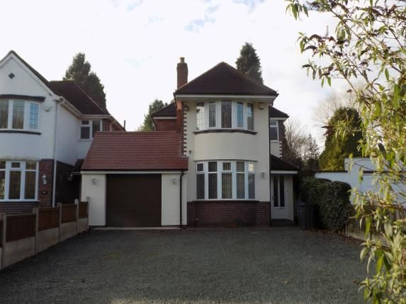Thumbnail Detached house for sale in Chester Road North, Streetly, Sutton Coldfield