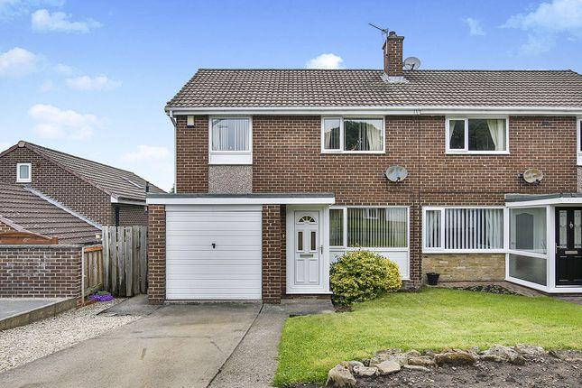 Thumbnail Semi-detached house for sale in Brackenridge, Burnopfield, Newcastle Upon Tyne
