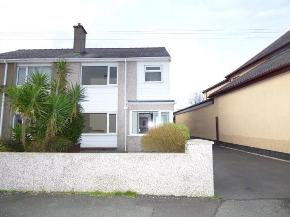 Thumbnail Semi-detached house for sale in Rhos Uchaf, Bangor, Gwynedd