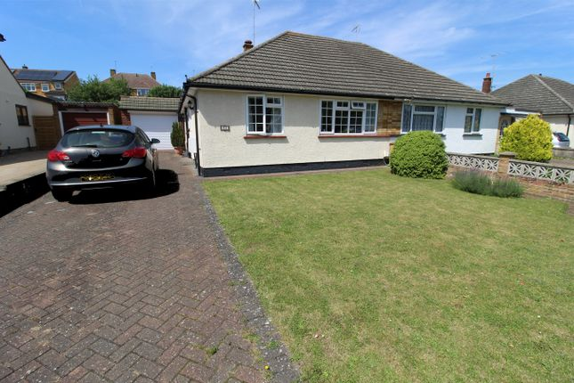 Thumbnail Semi-detached bungalow for sale in Ninesprings Way, Hitchin, Hertfordshire