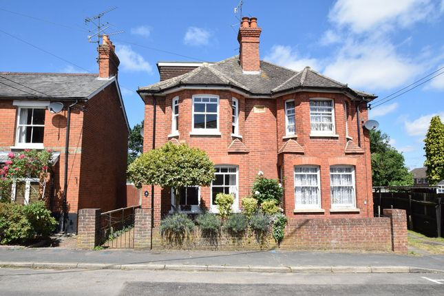 Thumbnail Semi-detached house for sale in New Road, Blackwater, Camberley