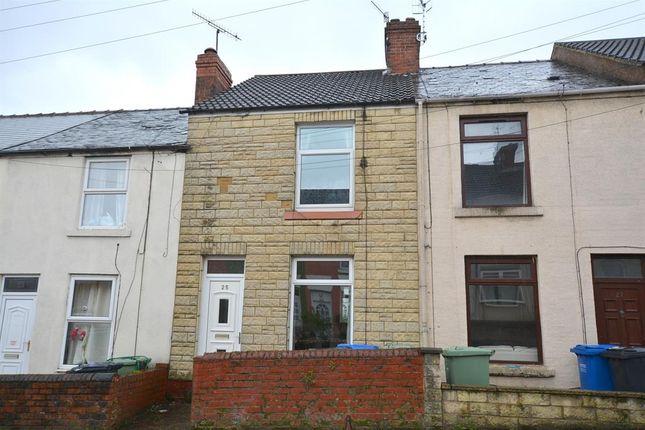 Thumbnail Terraced house for sale in Sanforth Street, Whittington Moor, Chesterfield.