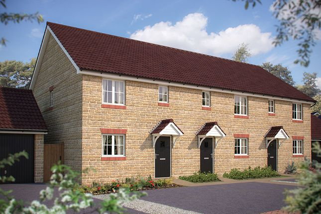 """Thumbnail Semi-detached house for sale in """"The Woodmancote"""" at Gotherington Lane, Bishops Cleeve, Cheltenham"""