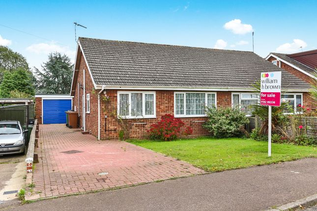 Thumbnail Semi-detached bungalow for sale in Bishop Herbert Close, Hockering, Dereham