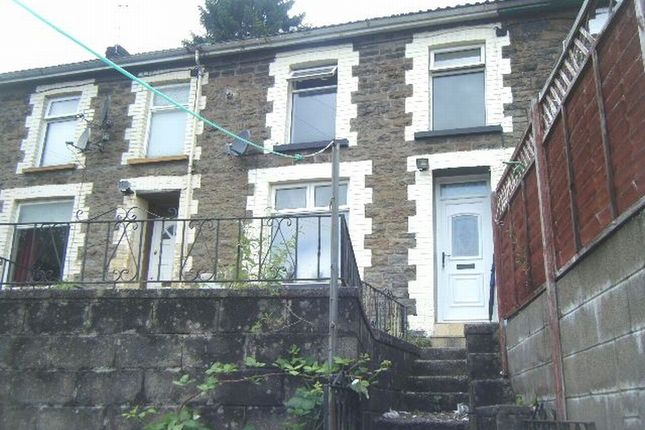Thumbnail Terraced house to rent in Court Place, Tonypandy, Rhondda Cynon Taff.