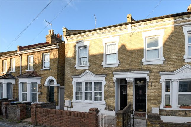 Thumbnail End terrace house for sale in Churchbury Road, Enfield, Middlesex