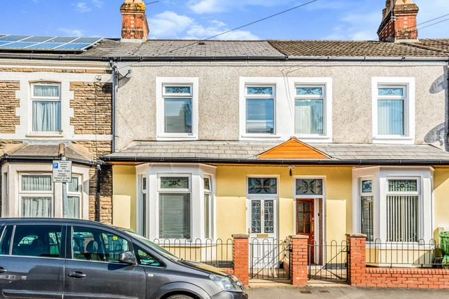 Thumbnail Terraced house for sale in Craddock Street, Cardiff