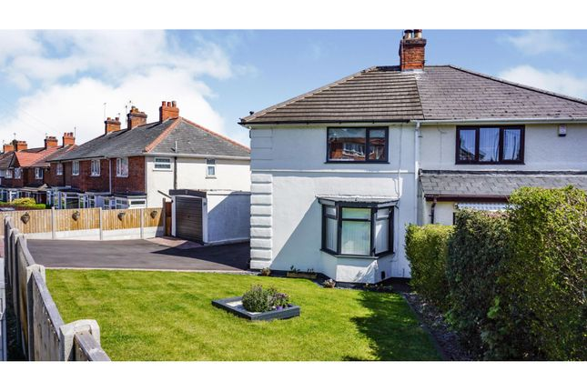 3 bed semi-detached house for sale in Sandmere Road, Birmingham B14