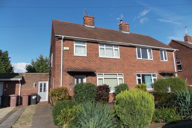 Thumbnail Semi-detached house for sale in Hills Road, Breaston, Derby