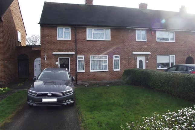 Thumbnail End terrace house to rent in Brownfield Road, Shard End, Birmingham