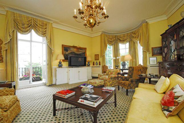 Thumbnail End terrace house to rent in West Halkin Street, Belgravia