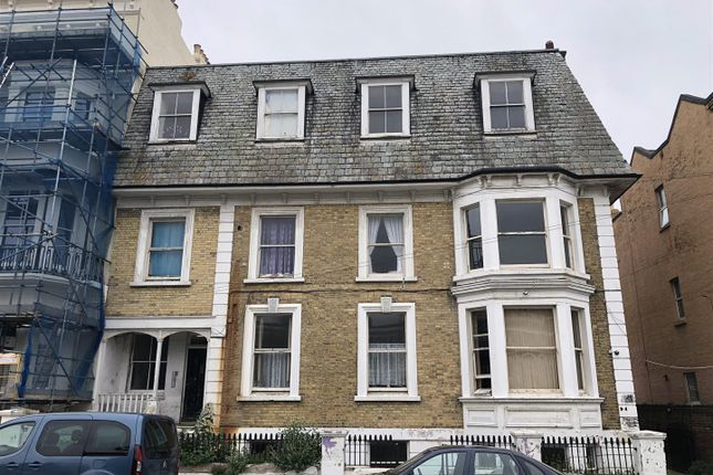 Thumbnail Block of flats for sale in Dalby Square, Cliftonville, Margate