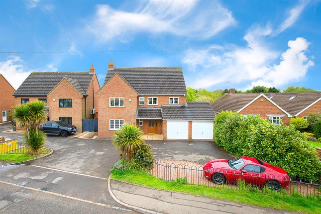 Thumbnail Detached house for sale in Corby Road, Weldon, Corby