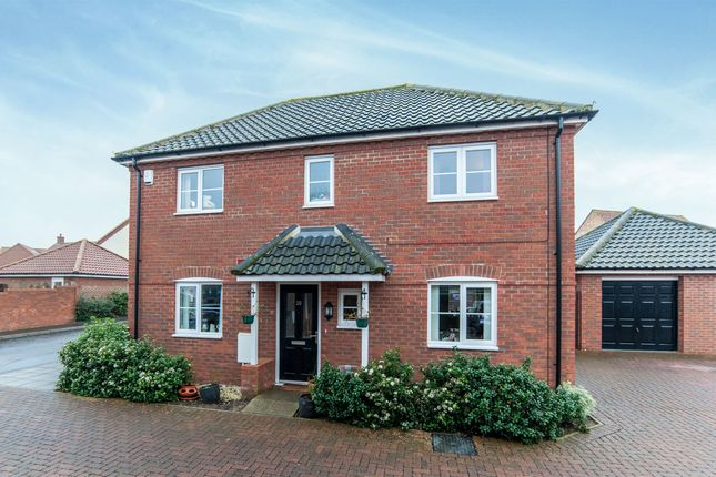 Thumbnail Detached house for sale in Prince William Way, Diss