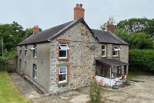 Thumbnail Land for sale in Llwyndafydd, Near New Quay