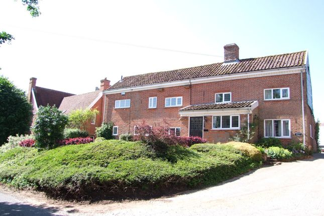 Thumbnail Detached house to rent in Stratford St. Andrew, Saxmundham
