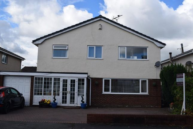 Thumbnail Detached house for sale in Ewloe, Deeside